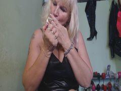 Strip-Zigaretten- Orgasmus