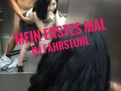 Mein erstes Mal im Fahrstuhl den Nachbarn verführt zum ficken!!