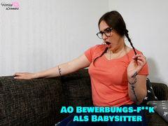 AO Bewerbungsfick als Babysitter