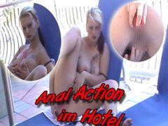 Geile ANAL-ACTION vom Hotel Balkon