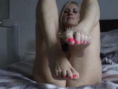 Wunsch-Clip I Spritz auf meine Füße ab!