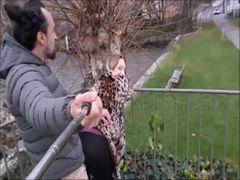 Public gefickt in Zürich an der Seestrasse