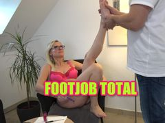 Footjob TOTAL I Fußfetisch XXL