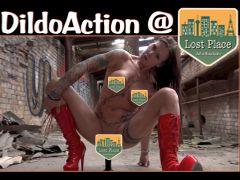 Dildoaction im Lost Place