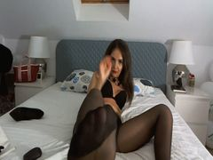 Meine Pussy in Nylons