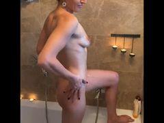 Badezimmer - ANAL Dildo-