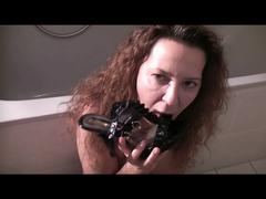 Bürofickfotze - Sperma Heels - Mein perverser Kollege