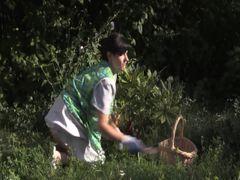 Lesbenspaß im Garten
