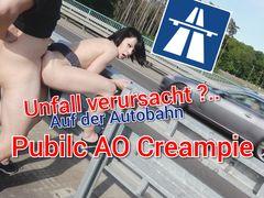 Unfall Verursacht? Public AO Crampie auf der Autobahn
