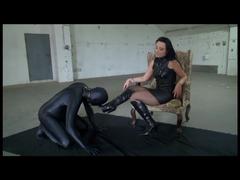 Fussfetisch Sklave