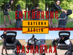 Kidnapping special with Kashadrax -  from Berlin to Bavaria 574 km
