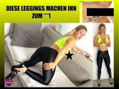 DIESE LEGGINGS MACHEN IHN ZUM SCHNELLSPRITZER!!