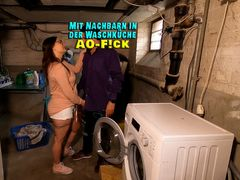 AO-Fick mit Nachbarn in der Waschküche