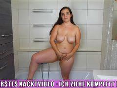 Mein erstes Nacktvideo - Ich ziehe komplett Blank