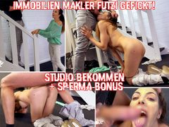 Real estate agent fucked - got studio  + sperm bonus 4K