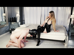LADYESTELLE - SLAVE MOVIE PART 4 Boot slave