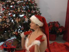 Cumshot unterm Weihnachtsbaum