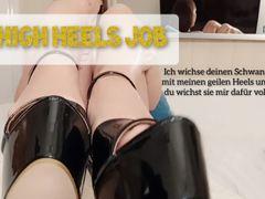 'High Heels Job' Wichs mir die geilen Heels voll