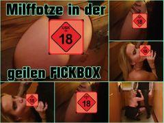Milffotze in der Fickbox