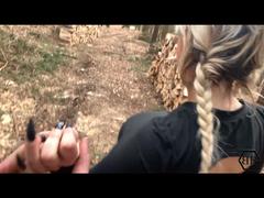 Beim Wandern verführt und erwischt worden - Deepthroat