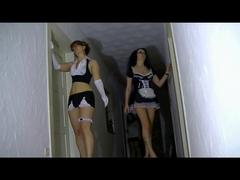 Geile Roomservice Orgie - Schwanzgeiles Dienstpersonal