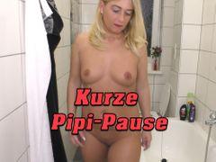 Kurze Pipi-Pause
