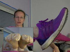 Stinkende Füße in Turnschuhen Teil 1