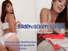Badehöschen Schau - 4 neue Badehöschen von User Daniel