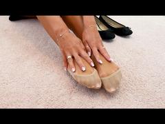 Geiles Fußvideo für dich - bist du bereit auf meine Füße zu spritzen?