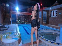 Spiel mit mir im Pool