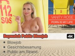 Baywatch Public Blowjob