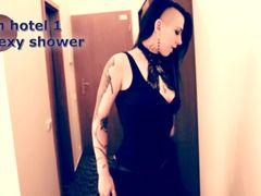 Im Hotel 1 Sexy Dusche