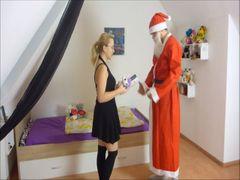 Mein Weihachts-Wunsch: Creampie vom Weihnachtsmann