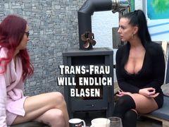 Trans-Frau will endlich Sex. Da helfe ich doch gern