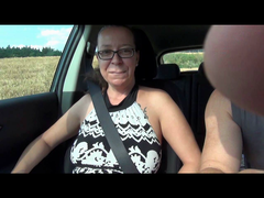 Geil im Auto - Ficken im Freien
