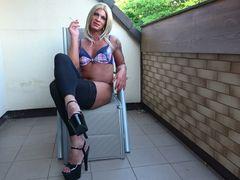 Smoky Trans - Dirty Talk XXL Sperma Wichsen