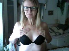 Mit Brille und sehr heiß