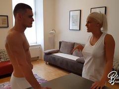 Blanche & Max Dior: Penis massage