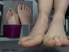 Stinkende Füße ganz nah Teil 2