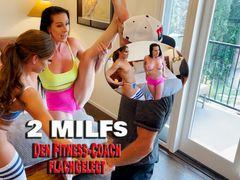 2 MILFs. Den Fitness-Coach flachgelegt