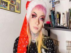 Weihnachtself fickt sich und bläst tief!
