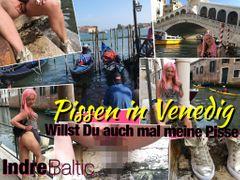 Public Piss in Venedig...
