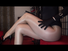 Super sexy Strumpfhosenbeine (ohne Ton)