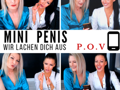 Mini penis - we laugh at you! POV