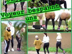 JoggingPiss - Voyeur bespannt uns