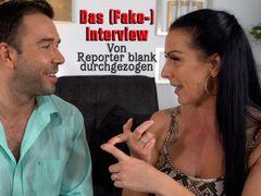 Das (Fake)Interview. Von Reporter blank durchgezogen