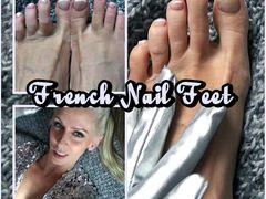 French Nail Feet