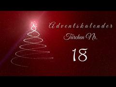 Adventskalender - Tür 18