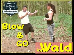 Blow and Go im Wald