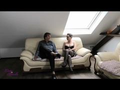 Milf-Sau besticht Makler mit AO Sex